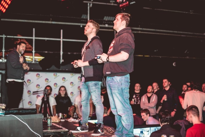 Manchester gaming festival stage head to head